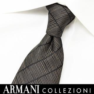 アルマーニ コレツィオーニ(ARMANI COLLEZIONI)の176 ARMANI COLLEZIONI ブラック系 シルクネクタイ(ネクタイ)