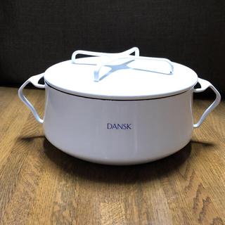 ダンスク(DANSK)のDANSK ダンスク両手鍋 18cm(鍋/フライパン)
