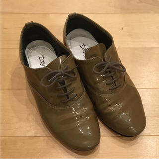 レペット(repetto)のrepetto レースアップシューズ (ベージュ)(ローファー/革靴)