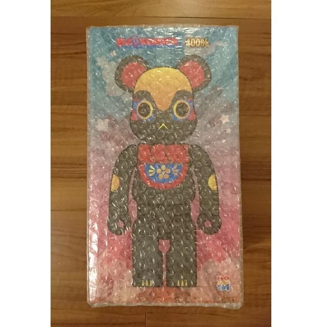 MEDICOM TOY(メディコムトイ)のベアブリック BE@RBRICK イヌハリゴン 黒 400% スカイツリー エンタメ/ホビーのフィギュア(その他)の商品写真
