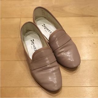 レペット(repetto)のrepetto 36 ピンクグレー フラットシューズ(ローファー/革靴)