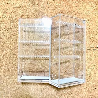 ムジルシリョウヒン(MUJI (無印良品))の【無印良品】アクリルネックレス・ピアススタンド2個セット(小物入れ)