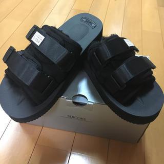 スイコック(suicoke)の♡新品♡スイコック  ムートンファーサンダル(サンダル)