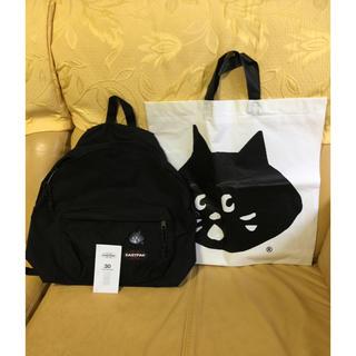 イーストパック(EASTPAK)の⭐︎新品⭐︎「にゃー✖️EASTPAK」コラボ パックバック ビニール袋付き(リュック/バックパック)