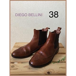 ディエゴベリーニ(DIEGO BELLINI)の最終値下げ❣️DIEGO BELLINI ディエゴ ベリーニ  サイドゴア(ブーツ)