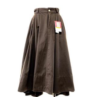 ケースリー(k3)のタグあり k3co&RED KAP コラボ スカート XS(ロングスカート)