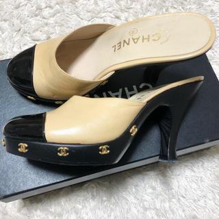 シャネル(CHANEL)の♡シャネル♡ CHANEL パンプス サボ サンダル 靴(ハイヒール/パンプス)