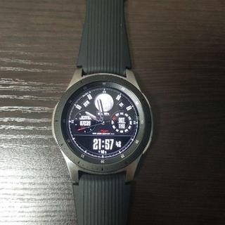 Galaxy watch(ギャラクシーウォッチ)46mm シルバー