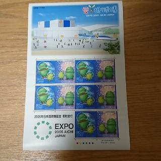愛 地球博 80円切手10枚 3シート(切手/官製はがき)