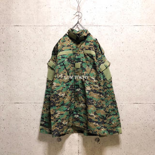 [used]camouflage design military jacket.(ミリタリージャケット)