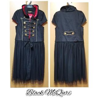 Black MiQuri●ナポレオンジャケット