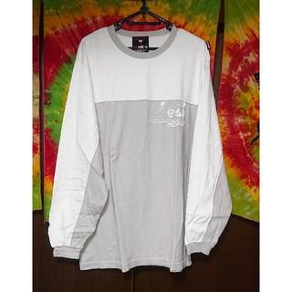 スクエア(SQUARE)のSQUARE バイカラーロングスリーブTシャツ(Tシャツ/カットソー(七分/長袖))