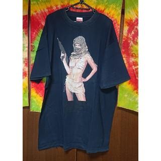 クリミナル(Kriminal)のKriminal ゲリラウーマンプリントTシャツ/大きいサイズ(Tシャツ/カットソー(半袖/袖なし))