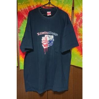 クリミナル(Kriminal)のKriminal トリコロールプリントTシャツ/大きいサイズ(Tシャツ/カットソー(半袖/袖なし))