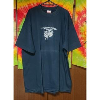 クリミナル(Kriminal)のKriminal 箔プリントTシャツ/大きいサイズ(Tシャツ/カットソー(半袖/袖なし))