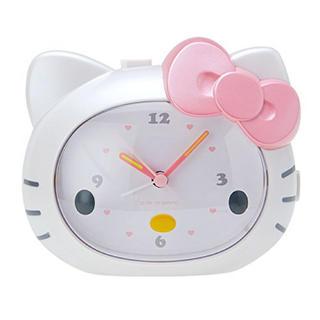 ハローキティ(ハローキティ)のハローキティ  キティの声で起こしてくれる目覚まし時計 アラーム クロック(置時計)