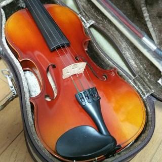 鈴木 国産 バイオリン No.300 証明ラベル有 ケース 弓 松脂 肩当セット(ヴァイオリン)