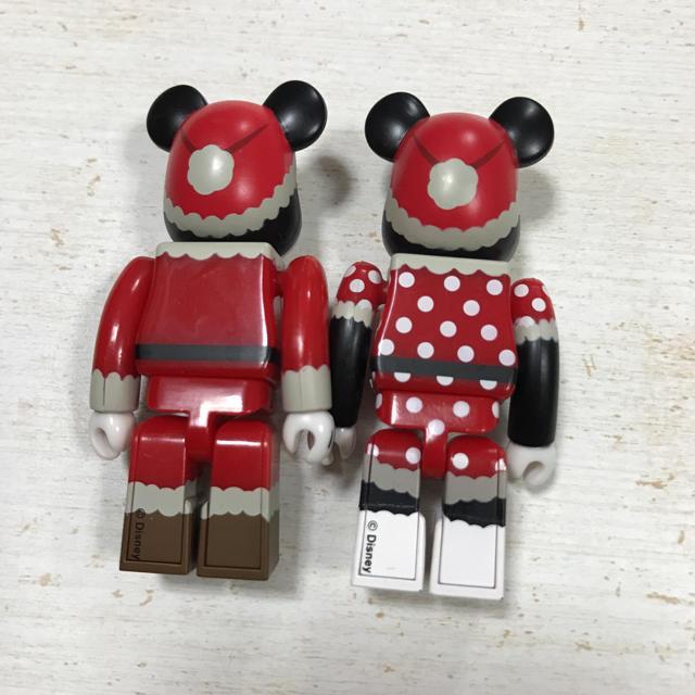 MEDICOM TOY(メディコムトイ)のBE@RBRICK  ミッキーミニーセット♪ エンタメ/ホビーのおもちゃ/ぬいぐるみ(キャラクターグッズ)の商品写真