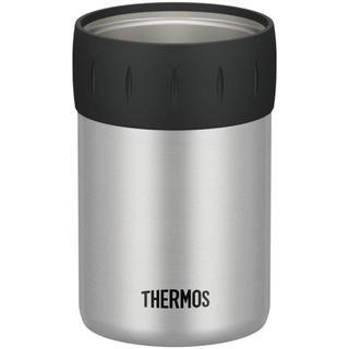 早い者勝ち 新品 サーモス 保冷缶ホルダー 350ml缶用 シルバー