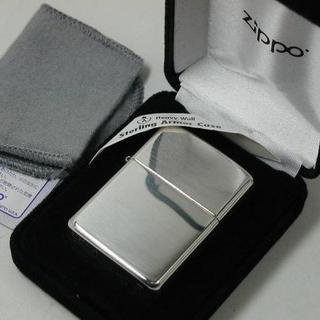 ジッポー(ZIPPO)の2020 Zippo スターリングシルバー純銀 アーマー #26(タバコグッズ)