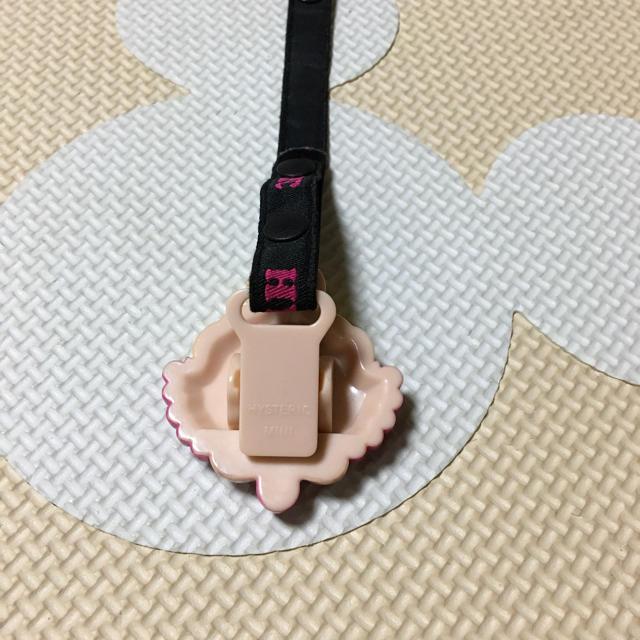 HYSTERIC MINI(ヒステリックミニ)の《ma様専用》おしゃぶりクリップ キッズ/ベビー/マタニティの外出/移動用品(ベビーホルダー)の商品写真
