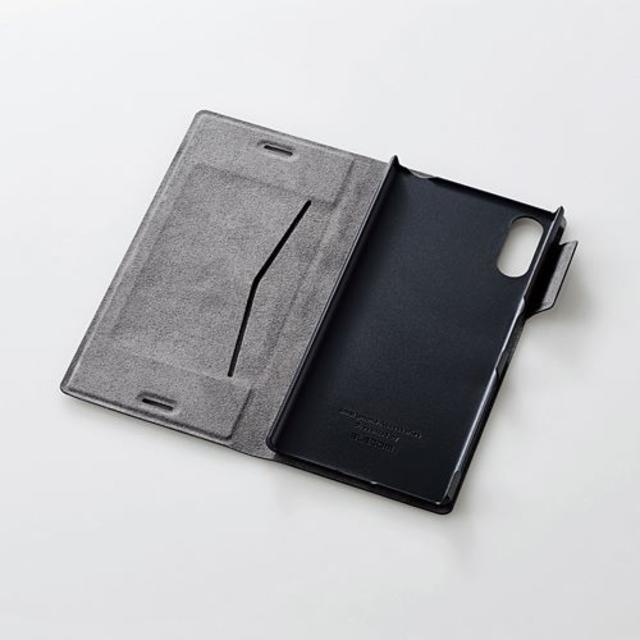 ca0db56c19 ELECOM - Xperia XZ SO-01J SOV34用薄型ソフトレザーケース ネイビーの ...