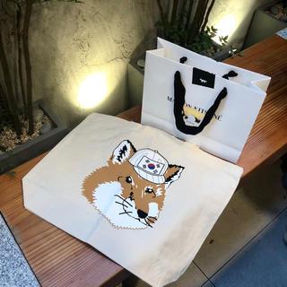 キツネ(KITSUNE)の韓国限定 maison kitsune  トートバック (トートバッグ)