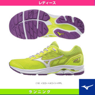 ミズノ(MIZUNO)のランニングシューズ 24.0㎝(ランニング/ジョギング)