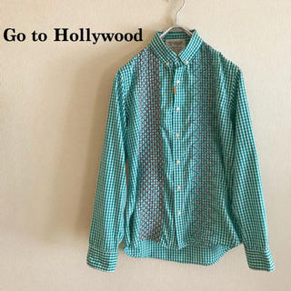 Go to Hollywood 2018SS ギンガムシャツ 170 パパサイズ
