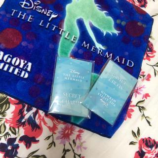 ディズニー(Disney)の劇団四季  リトルマーメイド    ハンカチ  チャーム(ミュージカル)