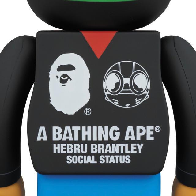 A BATHING APE(アベイシングエイプ)のBE@RBRICK A BATHING APE 400% ベアブリック エイプ メンズのファッション小物(その他)の商品写真