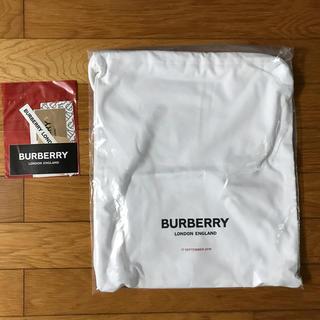バーバリー(BURBERRY)の【未使用】バーバリー 非売品 リック ステッカー(バッグパック/リュック)