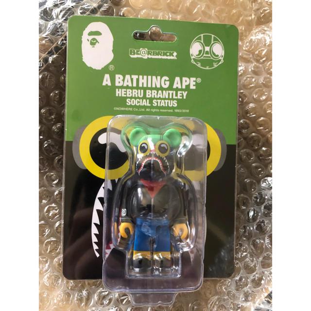 A BATHING APE(アベイシングエイプ)の100% A BATHING APE BE@RBRICK bape ベアブリック エンタメ/ホビーのフィギュア(その他)の商品写真