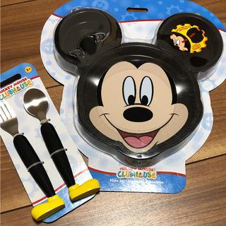 ディズニー(Disney)の新品未使用 ミッキー 食事セット ディズニー(離乳食器セット)