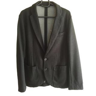 ジーユー(GU)のジャケット 黒 Mサイズ(テーラードジャケット)