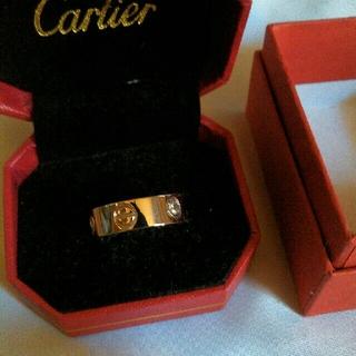 カルティエ(Cartier)の新品同様CartierLOVEリング(リング(指輪))
