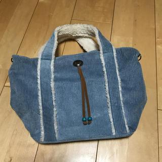 シマムラ(しまむら)のコーデュロイ もこもこバッグ♡♡(トートバッグ)
