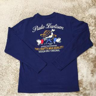 ステュディオダルチザン(STUDIO D'ARTISAN)のステュディオ ダルチザン 刺繍ロンT(Tシャツ/カットソー(七分/長袖))