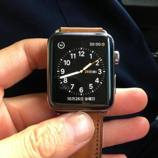 アップルウォッチ(Apple Watch)のApple Watch Series 2 42mm ステンレス iPhone(腕時計(デジタル))