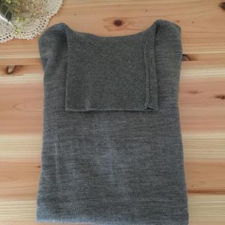 ムジルシリョウヒン(MUJI (無印良品))の無印良品*タートルネックセーター グレー(ニット/セーター)