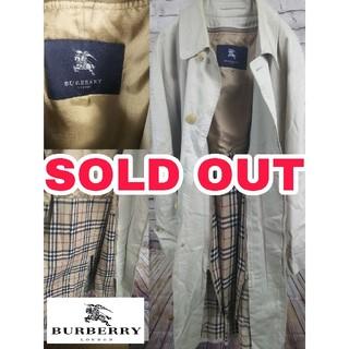バーバリー(BURBERRY)の ⬛️とんぬら様専用⬛️   Burberry LONDON ステンカラーコート(ステンカラーコート)