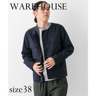 ウエアハウス(WAREHOUSE)の【新品】URBAN RESEARCH WAREHOUSE ノーカラーM-65(ミリタリージャケット)