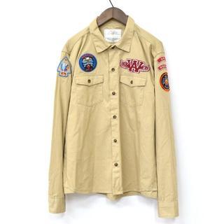 ウィズ(whiz)のWHIZ × ANOKHA コラボ ワッペン ボーイスカウトシャツ XL(シャツ)