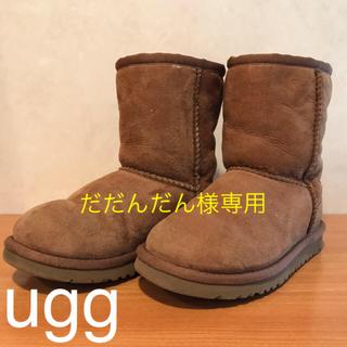 アグ(UGG)のUGG☆kids用ムートンブーツ・17.5cm(ブーツ)