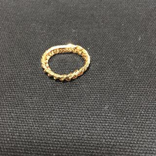 12面カットトリプルチェーンリング(リング(指輪))