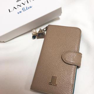 ランバンオンブルー(LANVIN en Bleu)のkurara様専用【LANVIN】ランバン iPhone7ケース チャーム付(iPhoneケース)