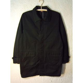 オムニゴッド(OMNIGOD)の1664 オムニゴット 日本製 ステンカラーコート  ブラック 人気(ステンカラーコート)