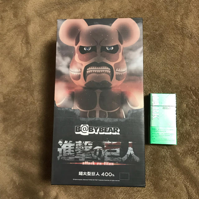 MEDICOM TOY(メディコムトイ)のBE@BRICK 進撃の巨人 400% ベアブリック  エンタメ/ホビーのフィギュア(その他)の商品写真