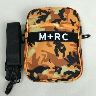ノワール(NOIR)のM+RC NOIR マルシェノア オレンジ 迷彩 ショルダーバッグ(ショルダーバッグ)