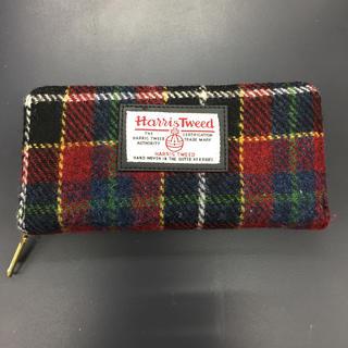 シマムラ(しまむら)のハリスツィード チェック柄 長財布(財布)